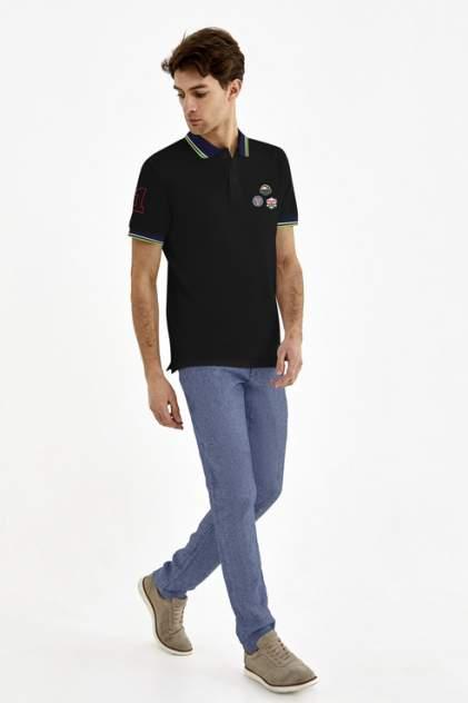 Поло мужское Tom Farr T M8024.58 черное S
