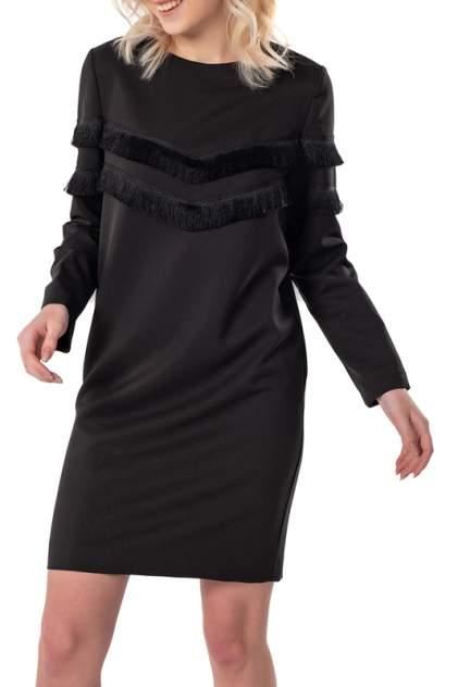 Платье женское Fly 878-01 черное 40 RU