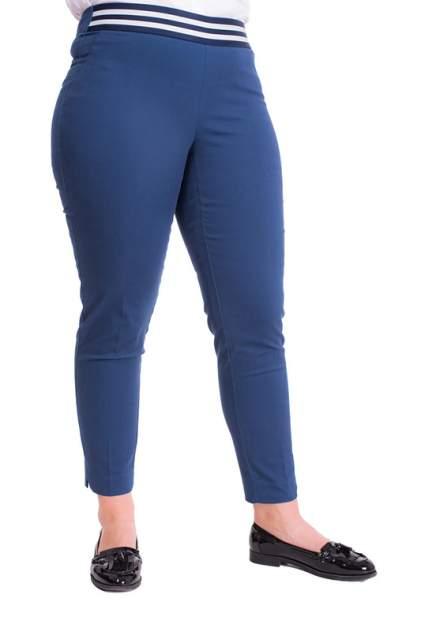 Брюки женские MONTEBELLUNA WLQ906218 синие 54 RU