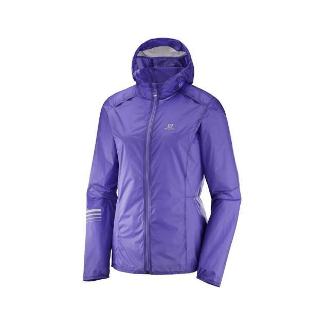 Куртка Salomon Lightning Wind Hoodie, purple opulence, L INT