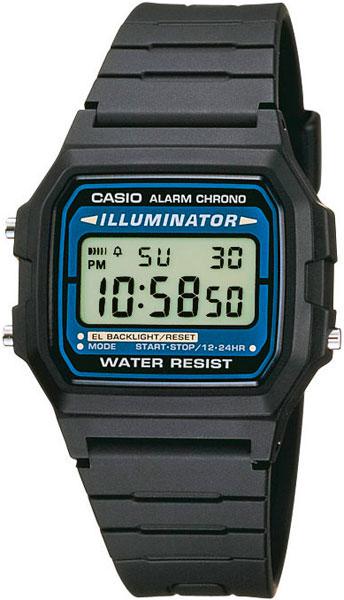 Наручные часы электронные мужские Casio Illuminator Collection F-105W-1A