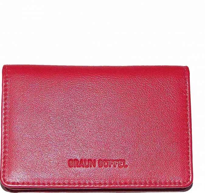 Визитница Braun Buffel 93046-396-080 красная