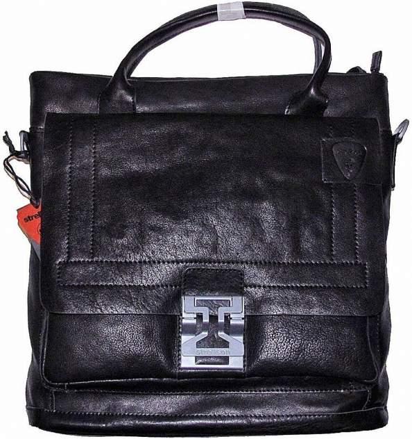 Портфель кожаный Strellson 02-11-04088-900 черный
