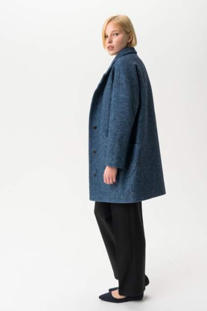 Пальто женское ElectraStyle С3У-7007/1-138 голубое 44 RU