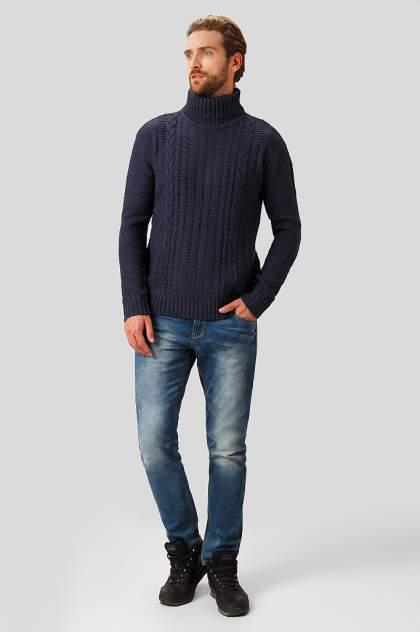 Свитер мужской Finn Flare W18-22113 синий 3XL