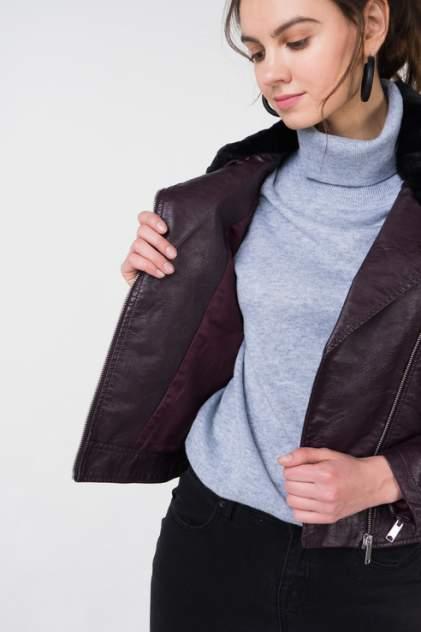 Куртка женская b.young 20804172 бордовая 36 EU