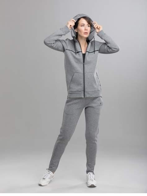 Толстовка Fifty FA-WJ-0103, серый, L INT