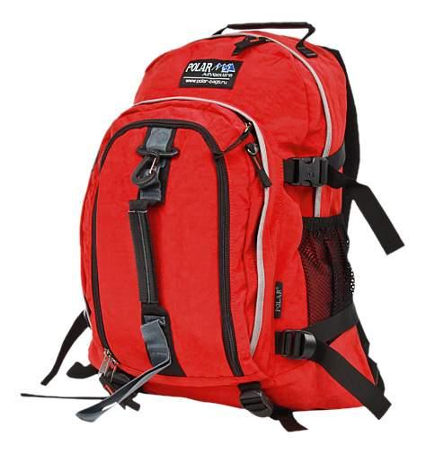 Рюкзак Polar П955Ж-01 красный 20,7 л