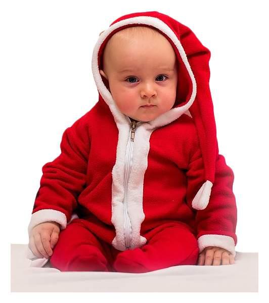 Карнавальный костюм Бока Санта-Клаус, цв. красный р.74