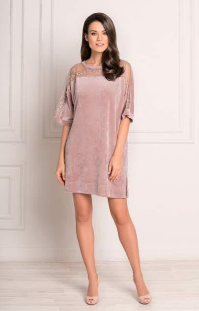Домашнее платье женское Laete 20266-1 розовое L