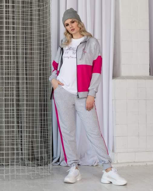 Спортивный костюм женский BARMARISKA серый L