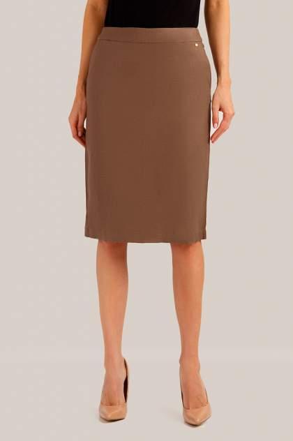 Юбка женская Finn Flare S19-14053 коричневая L