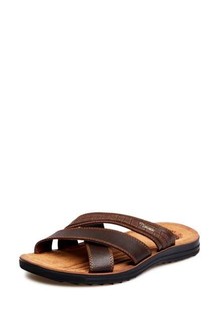 Шлепанцы мужские T.Taccardi 03106010, коричневый