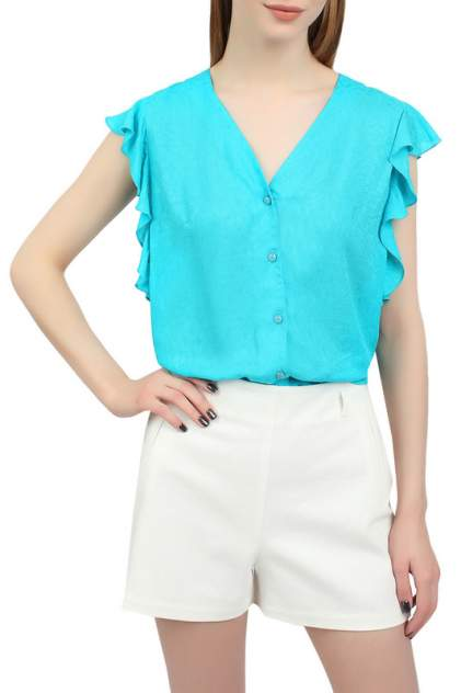 Блуза женская SERGINNETTI 4-1672-3480-36 голубая 40 RU