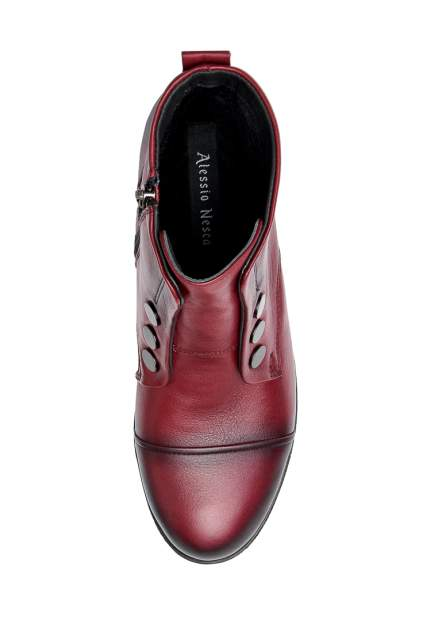 Ботинки женские Alessio Nesca 710018334 красные 38 RU