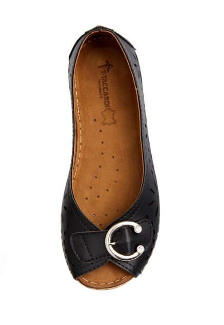 Туфли женские T.Taccardi 710018088 черные 38 RU