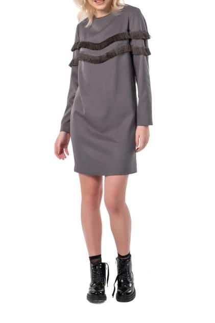 Платье женское Fly 878-11 серое 40 RU