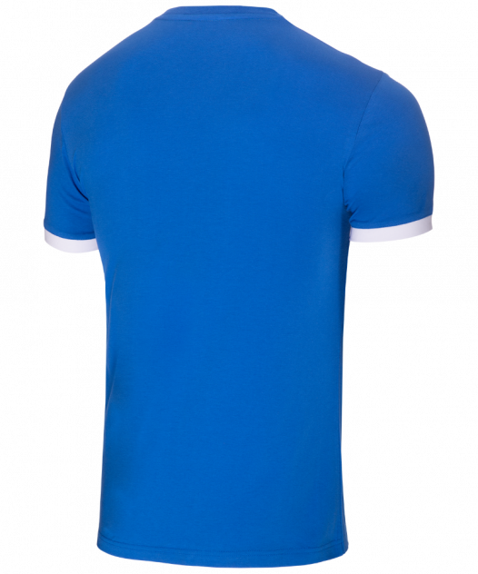 Футболка Jogel JCT-1040-071, синий/белый, L INT