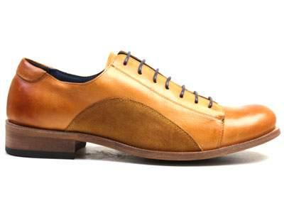 Мужские полуботинки Airbox 135554, коричневый