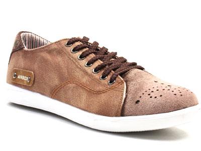 Кеды мужские Airbox 135563, коричневый