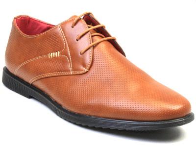 Туфли мужские Airbox 135616 коричневые 45 RU