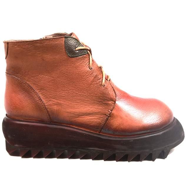 Ботинки женские Airbox 135649 коричневые 39 RU
