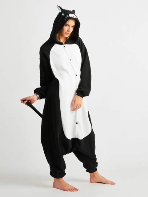 Кигуруми BearWear Черный кот, черный