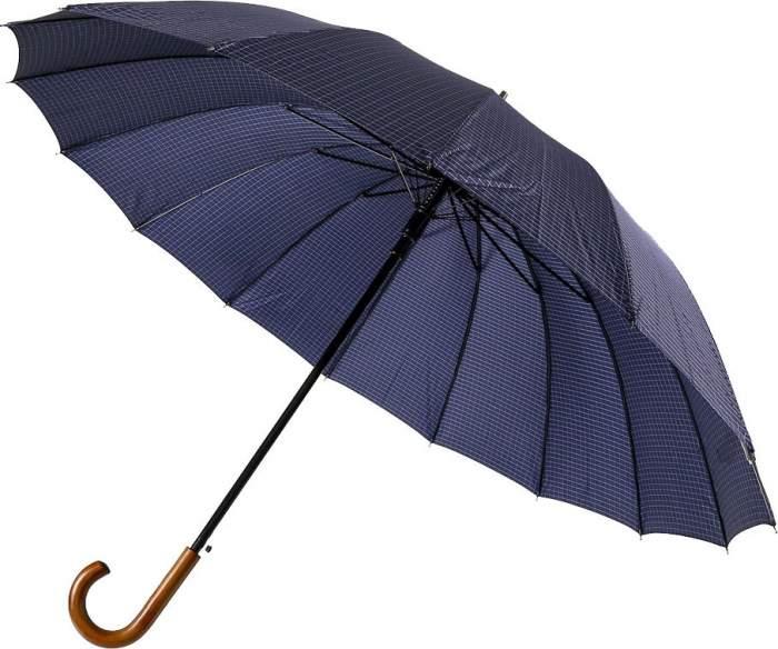 Зонт-трость мужской полуавтоматический Sponsa 17105-6 M синий