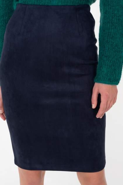 Юбка женская Incity 1.1.2.18.01.45.00821/194011 синяя 40 RU