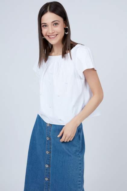 Блуза женская ZARINA 9225117317 белая 42 RU