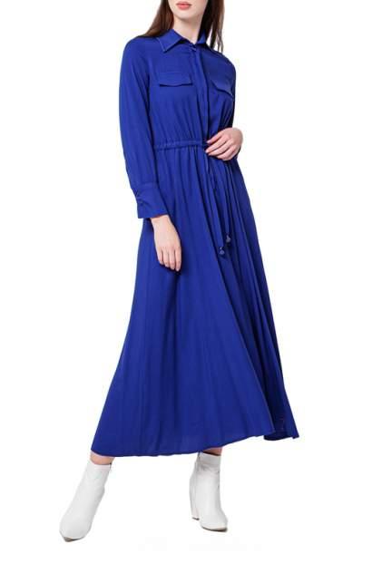 Платье женское BGN W20D351 синее 38 FR