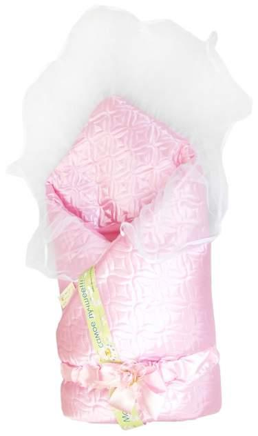 Одеяло на выписку L'Abeille Мила 6406 розовый