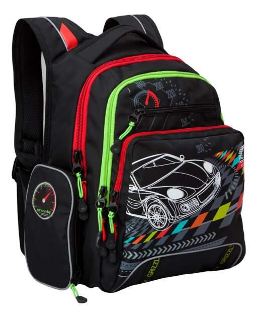 Рюкзак детский Grizzly Rb-631-2 школьный Черный