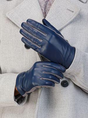 Перчатки мужские Eleganzza IS8220 синие 8.5