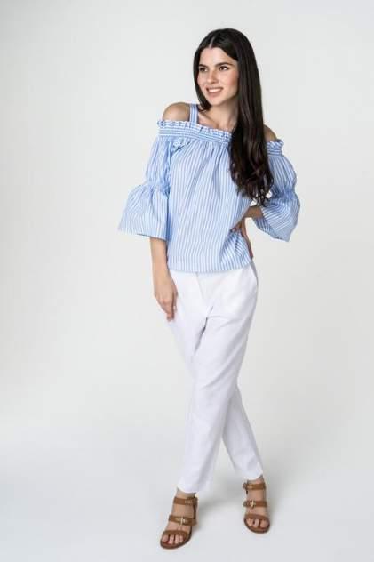 Блуза женская Baon B178019 голубая XS