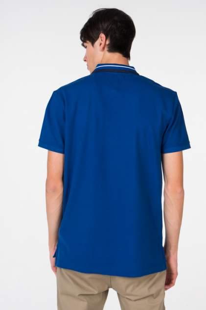 Поло мужское Tommy Hilfiger DM0DM05509 синее M