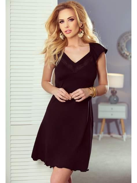 Ночная сорочка Eldar FLORA, черный
