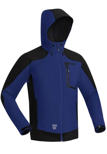 Куртка мужская Bask Tornado V2, темно-синяя, 54 RU