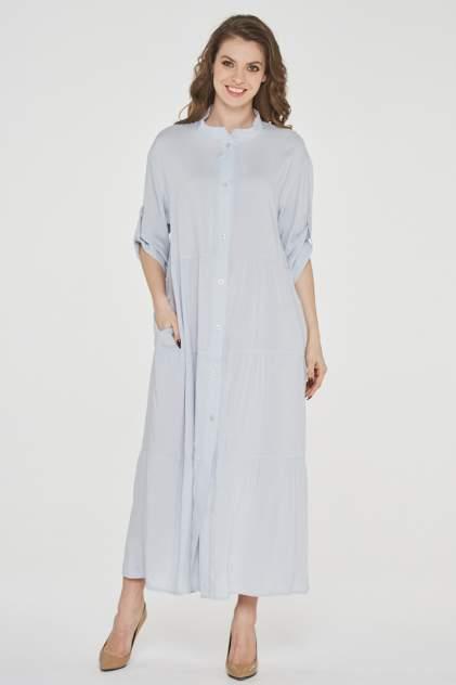 Платье женское VAY 191-3514 серое 48 RU