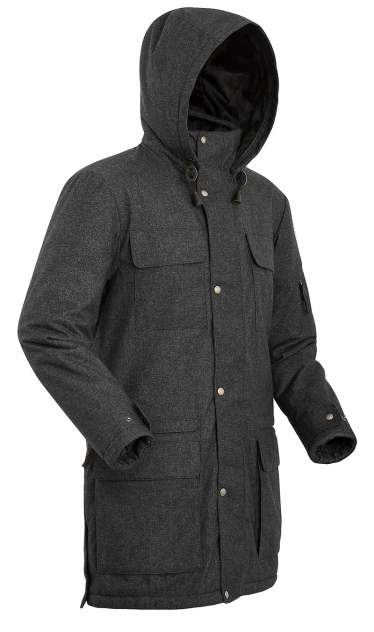 Пальто  SHL FORESTER 8001-9009-050 ЧЕРНЫЙ 50