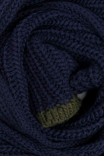 Шарф мужской Finn-Flare W19-21121 синий