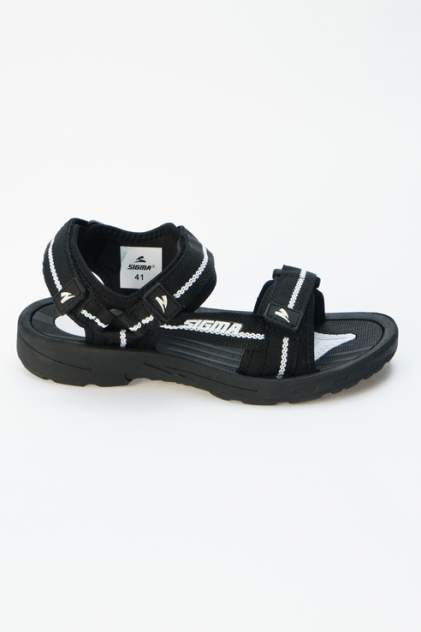 Сандалии мужские SIGMA 20631G-E черные 42 RU
