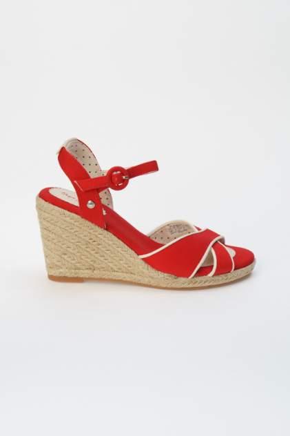 Босоножки женские Pepe Jeans PLS90404 красные 36 RU