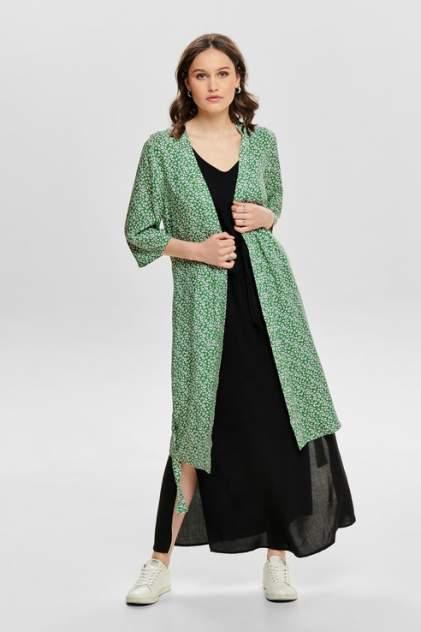 Кардиган женский Jacqueline de Yong 15171496 зеленый 34 FR