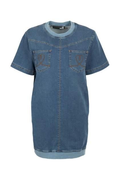 Женское платье Love Moschino 93453, синий