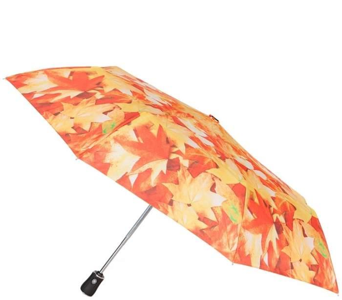 Зонт складной женский автоматический Labbra 01-00026527 оранжевый