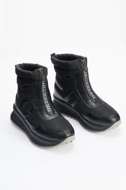 Ботинки женские GRUNBERG 198586/03 черные 37 RU