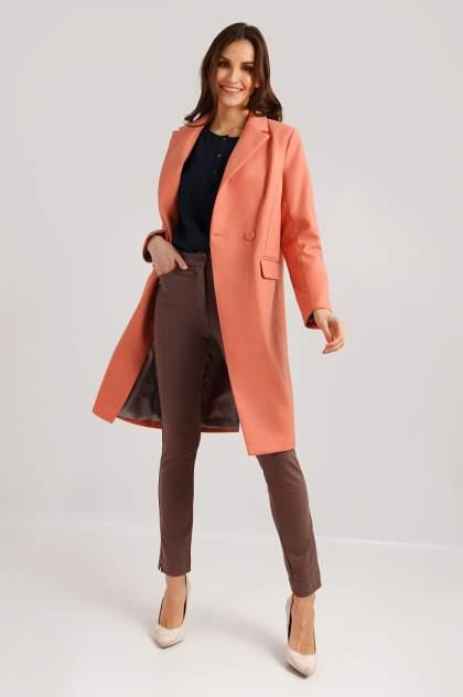 Пальто женское Finn Flare B19-11007 красное XS