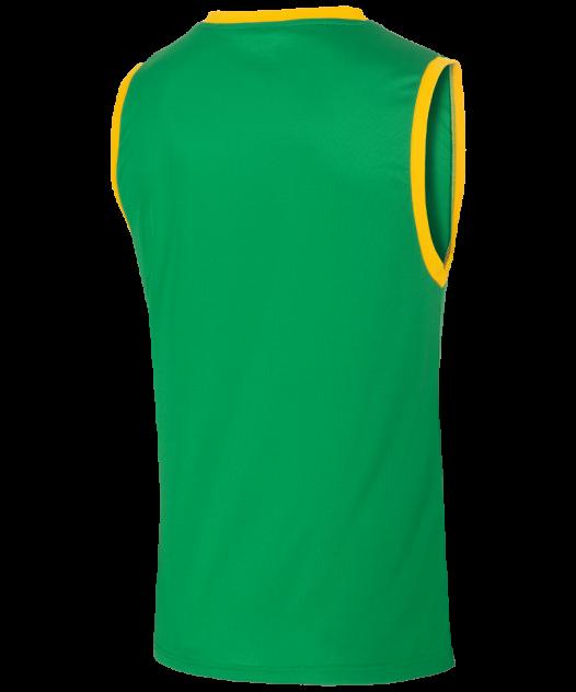 Майка Jogel JBT-1020-034, зеленый/желтый, M INT