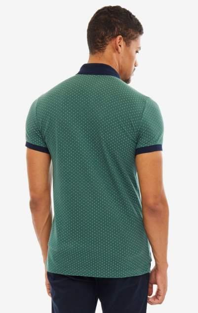 Поло мужское United Colors of Benetton 3LK3J3155_80M зеленое/синее/белое XXXL